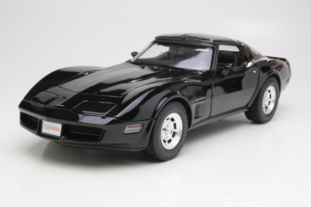 Chevrolet Corvette C3 Coupe 1982, musta