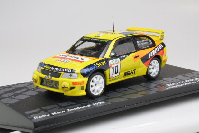 Seat Cordoba WRC, New Zealand 1999, T.Gardemeister, no.10
