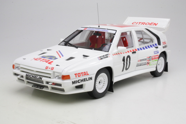 Citroen BX 4TC, Sweden 1986, J-C.Andruet, no.10