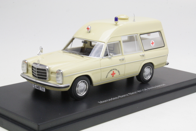 Mercedes (W114) Binz, DRK - German red cross