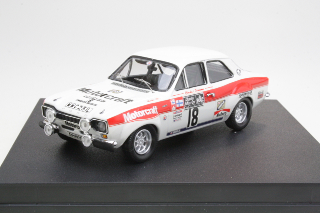 Ford Escort Mk1 RS1600, 3rd. RAC 1973, M.Alen, no.18