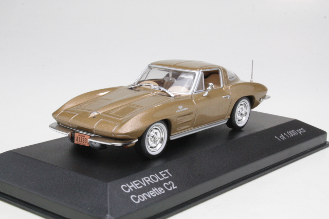 Chevrolet Corvette C2 Sting Ray 1963, kulta