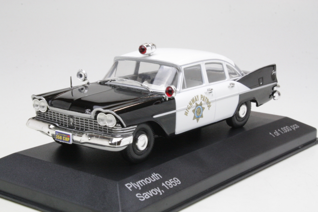 "Plymouth Savoy 1959 ""California Highway Patrol"""