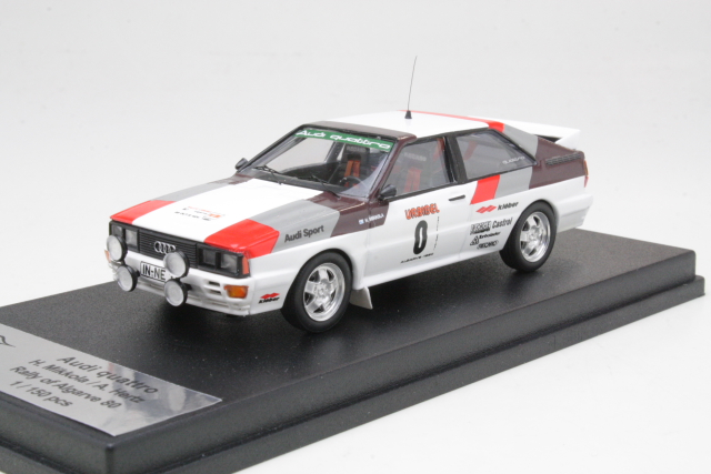 "Audi Quattro, Algarve 1980 ""First Rally"", H.Mikkola, no.0"