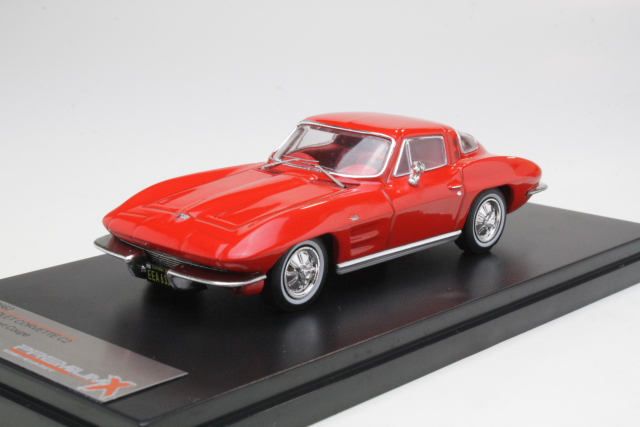 Chevrolet Corvette C2 Sting Ray Coupe 1964, punainen