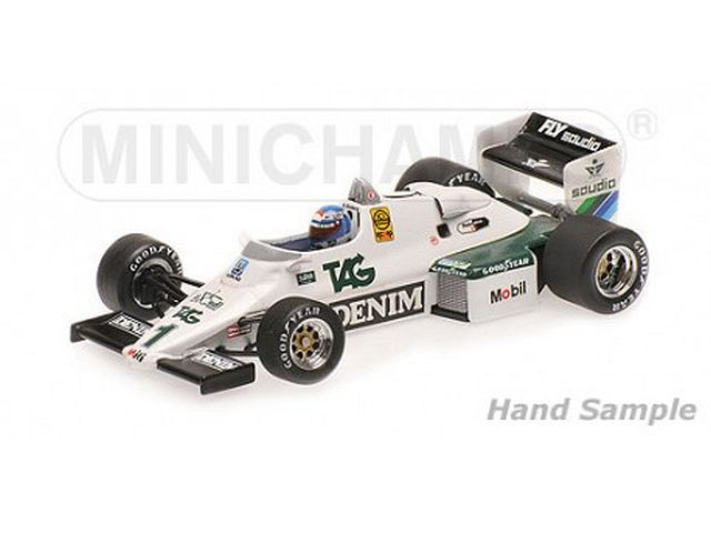 Williams Ford FW08C, 1st. Monaco GP 1983, K.Rosberg, no.1