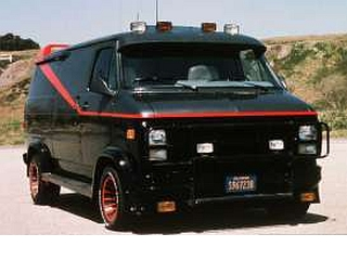 "GMC Vandura 1983 ""The A-Team TV Series"""