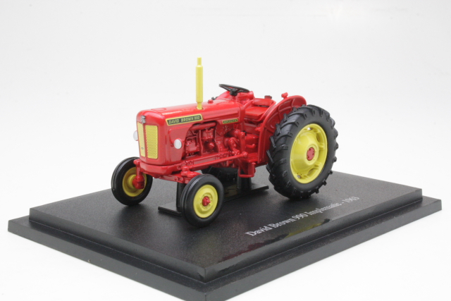 David Brown 990 Implematic 1963, punainen 1:43