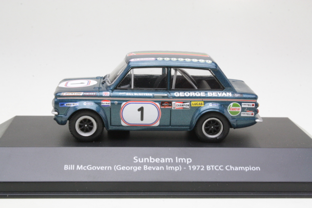 Sunbeam Imp, BTCC Champion 1972, B.McGovern, no.1