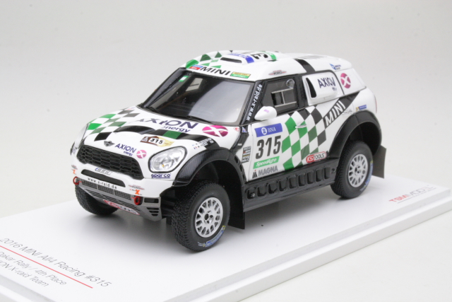 Mini All4 Racing, 4th. Dakar Rally 2016, M.Hirvonen, no.315