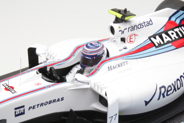 Williams Mercedes FW38, F1 2016, V.Bottas, no.77