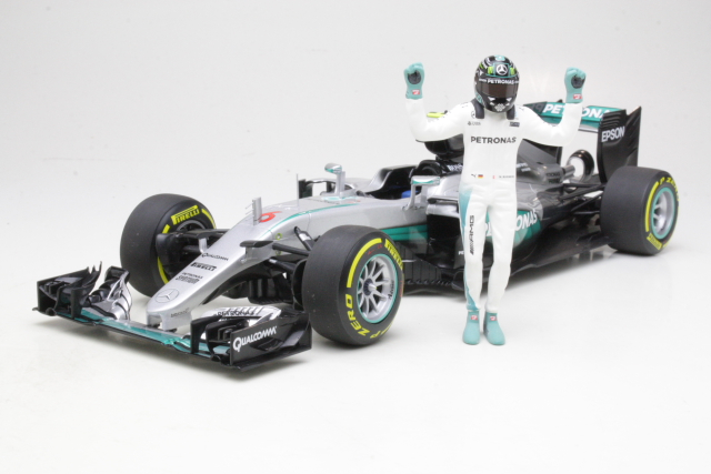 Mercedes AMG W07 Hybrid, World Champion 2016, N.Rosberg, no.6