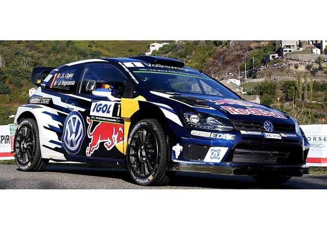 VW Polo R WRC, Tour de Corse 2016, S.Ogier, no.1