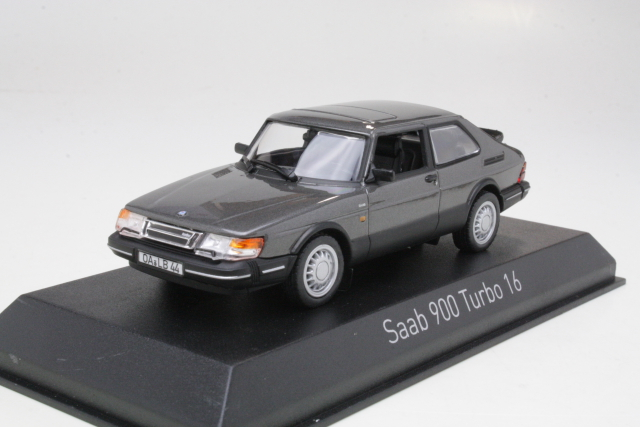 Saab 900 Turbo 16 Coupe 1991, harmaa