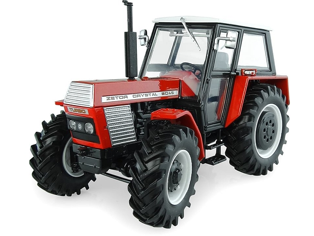 Zetor Crystal 8045 Turbo Generation II 4wd, punainen