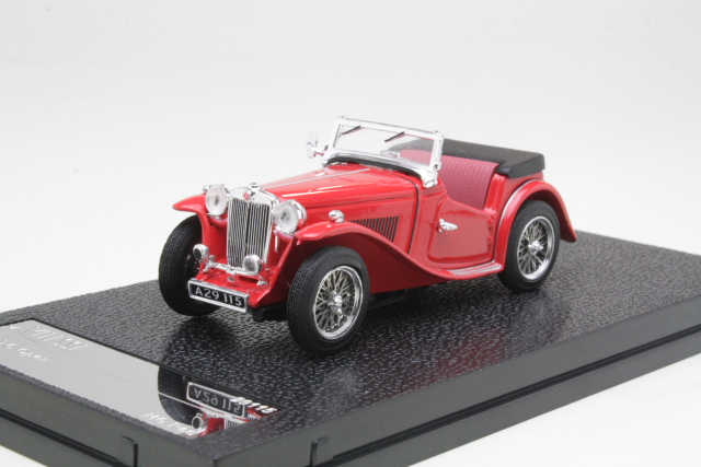MG TC Cabriolet 1945, punainen