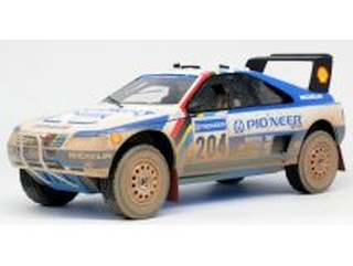 Peugeot 405 T16, Paris-Dakar 1989, A.Vatanen, no.204 (DIRTY)
