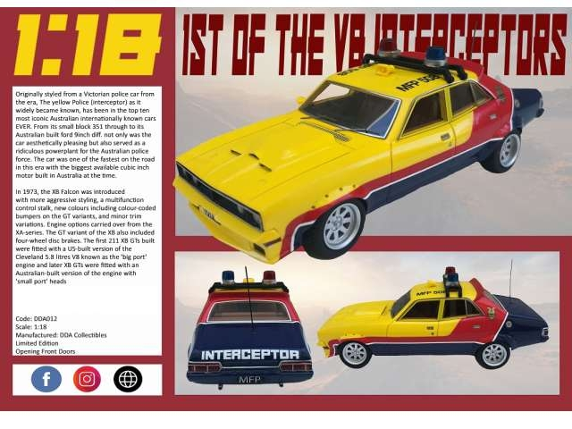 "Ford XB Falcon V8 1973 ""First of the V8 Interceptors"""