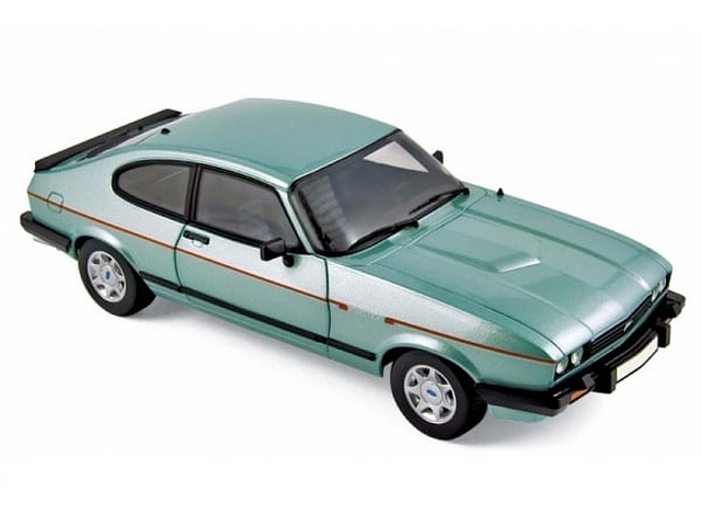 Ford Capri Mk.3 2.8 Injection 1982, vihreä