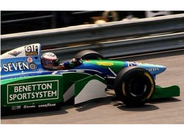 Benetton Ford B194, Monaco GP 1994, J.J.Lehto, no.6