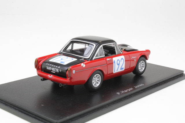 Sunbeam Tiger, Targa Florio 1965, P.Harper, no.192