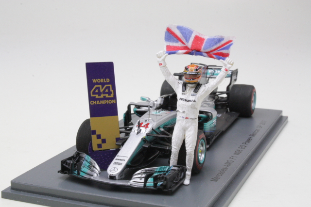 Mercedes AMG W08, Mexican GP 2017, L.Hamiliton, no.44