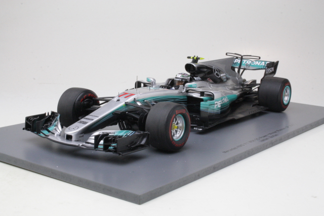 Mercedes AMG W08, 1st. Russian GP 2017, V.Bottas, no.77 (1:18)