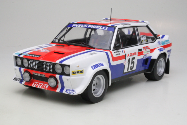 Fiat 131 Abarth, Tour de Corse 1980, M.Mouton, no.15