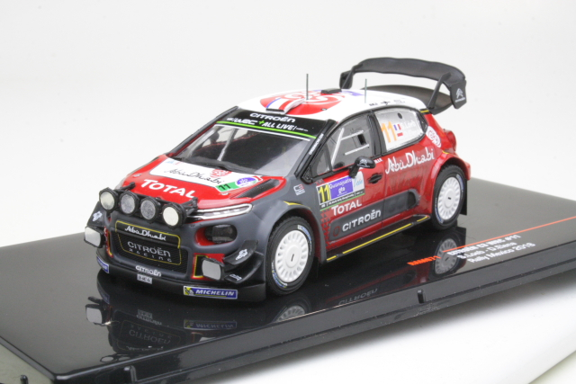 Citroen C3 WRC, Mexico 2018, S.Loeb, no.11