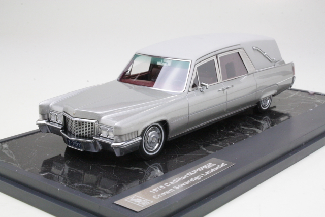Cadillac Superior Hearse 1970, hopea