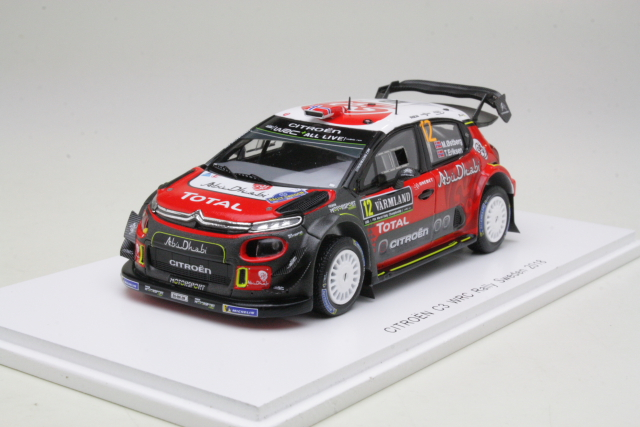 Citroen C3 WRC, 6th Sweden 2018, M.Ostberg, no.12