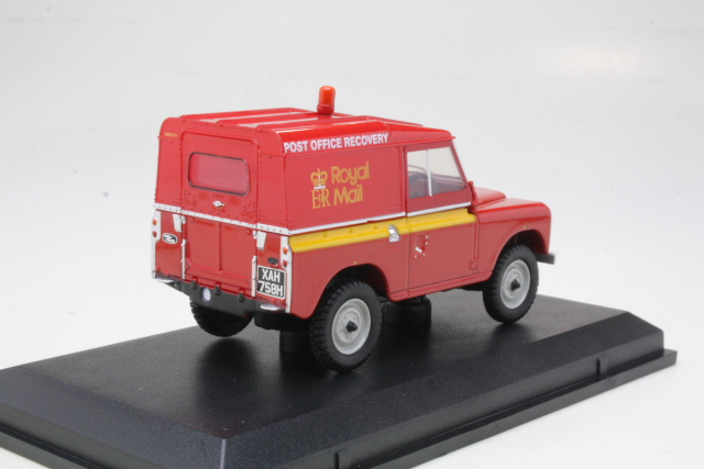 "Land Rover Series IIA SWB Hard Top ""Royal Mail Post Brehinol"""