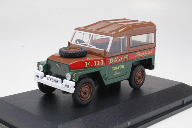"Land Rover Lightweight Hard Top ""Fred Dibnah"""