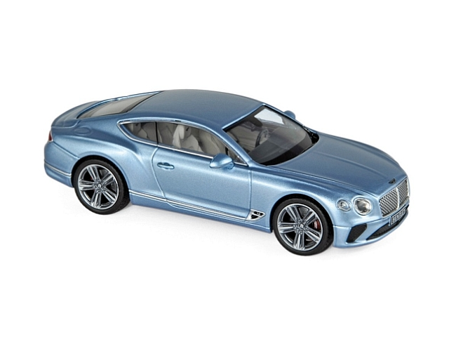 Bentley Continental GT 2018, sininen