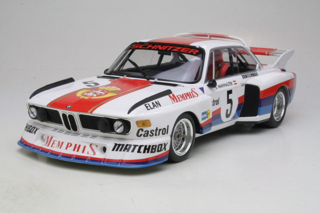 BMW 3.5 CSL, 1st. Havirov International 1977, S.Manhalter, no.5