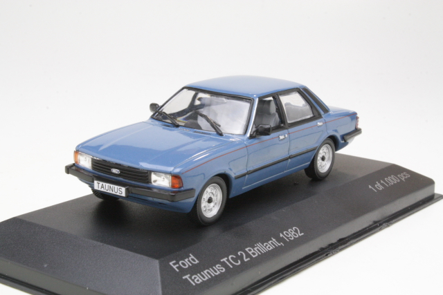 Ford Taunus TC3 1982 Brillant, sininen