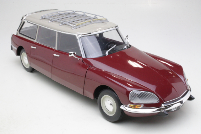 Citroen DS21 Break 1970, tummanpunainen