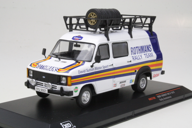 "Ford Transit Mk2 1979 ""Rally Assistance David Sutton"""