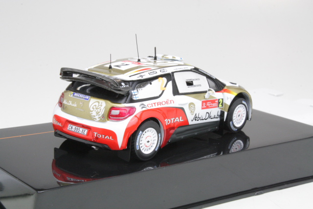 Citroen DS3 WRC, Portugal 2013, M.Hirvonen, no.2