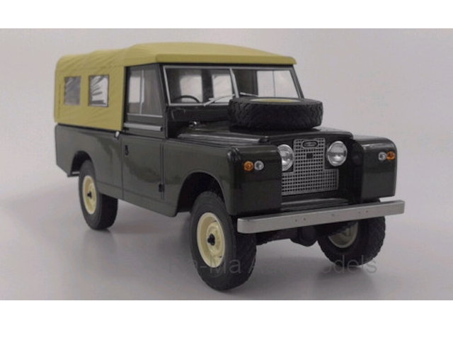 Land Rover 109 Pick Up Ser.2 1959, tummanvihreä