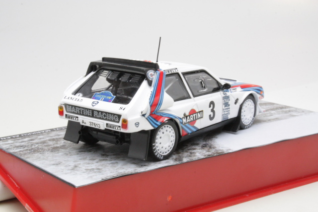 Lancia Delta S4, 2nd. Sweden 1986, M.Alen, no.3