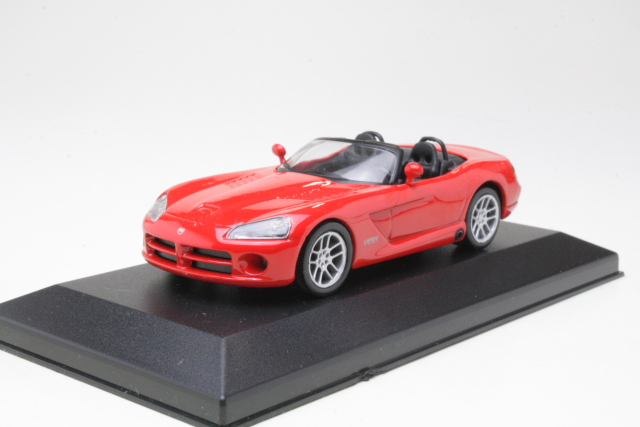Dodge Viper SRT10 Convertible, punainen