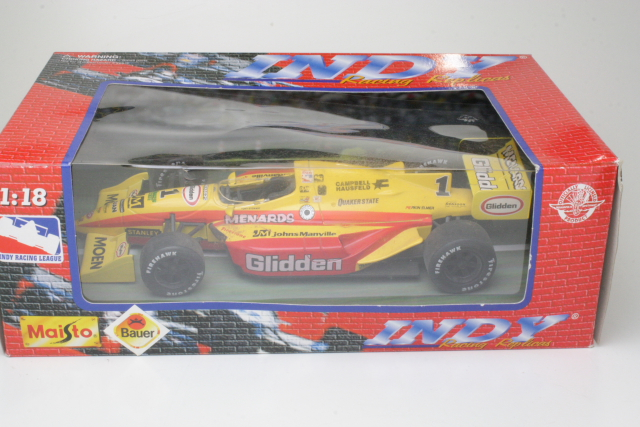 "Indy Car ""Glidden"", Tony Stewart, no.1 ""B-LAATU"""