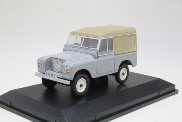 Land Rover Series 3 SWB Soft Top, harmaa