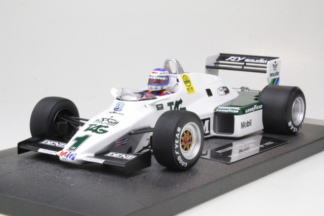 Williams Ford FW08C, F1 1983, K.Rosberg, no.1