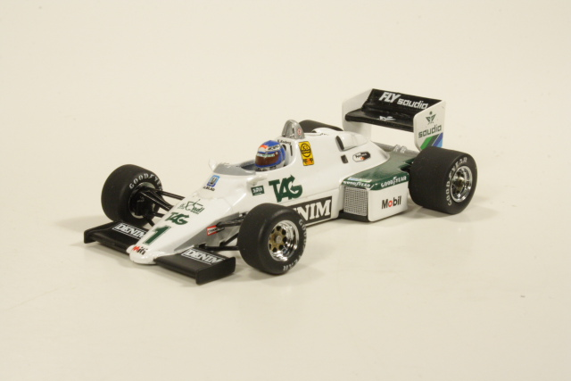 Williams Ford FW 08C 1983, K.Rosberg, no.1