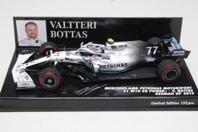 Mercedes AMG W10, German GP 2019, V.Bottas, no.77