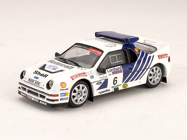 Ford RS200, RAC 1986, K.Grundel, no.6