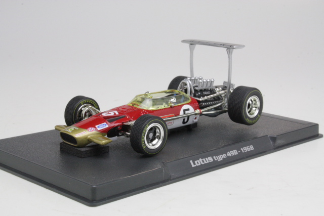 Lotus Type 49B, Graham Hill 1968, no.5
