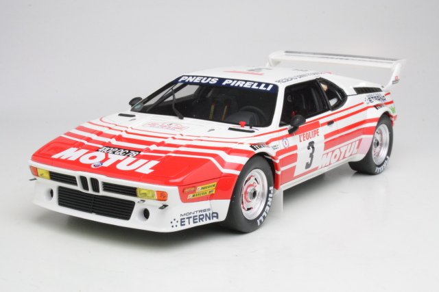 BMW M1 Gr-B, Tour de Corse 1983, B.Beguin, no.3